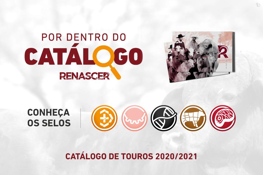 CONHEÇA OS NOVOS SELOS - POR DENTRO DO CATÁLOGO