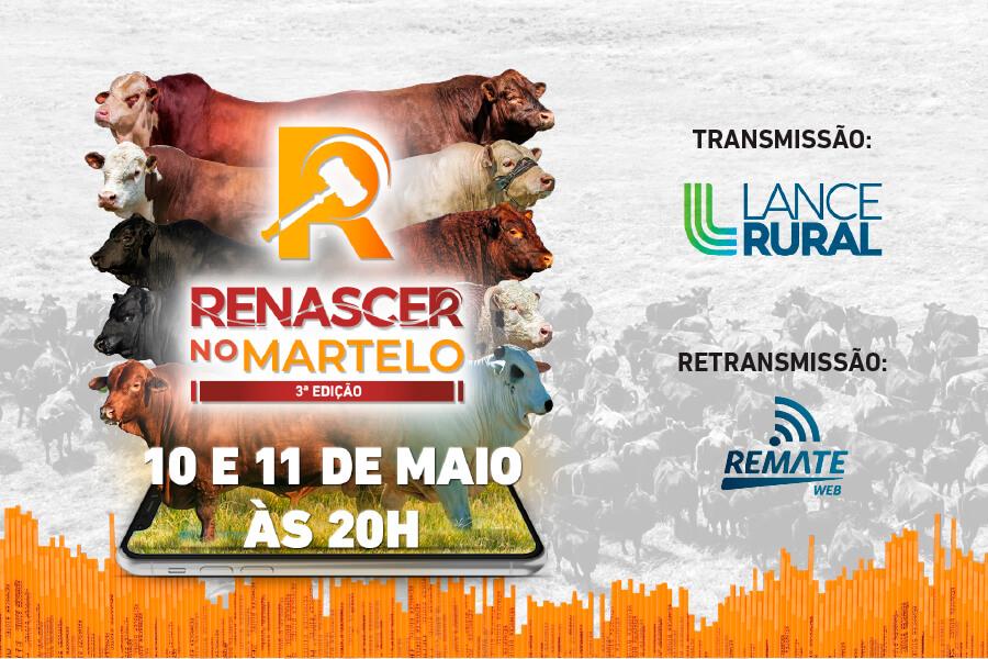 RENASCER NO MARTELO 3ª EDIÇÃO - DIAS 10 E 11 DE MAIO